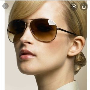 Tom Ford Charles Aviator Sunglasses TF35 772